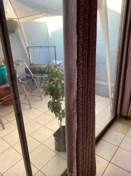 vista patio desde dormitorio